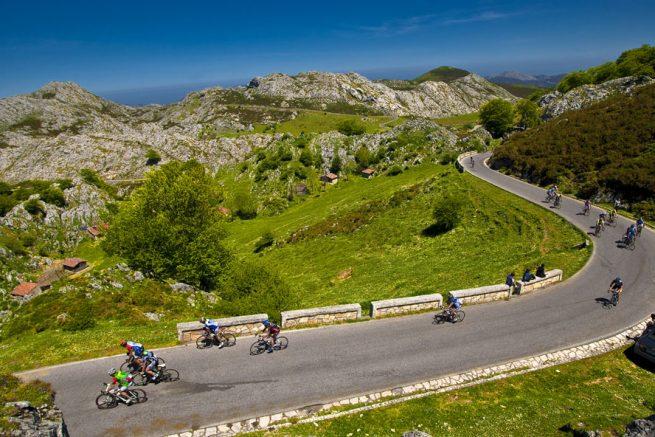 Ruta organizada cicloturista en Asturias