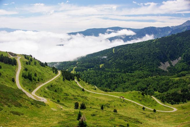 Experiencia cicloturista organizada en Pirineos