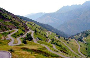 Ciclismo en Alto del Angliru, Asturias