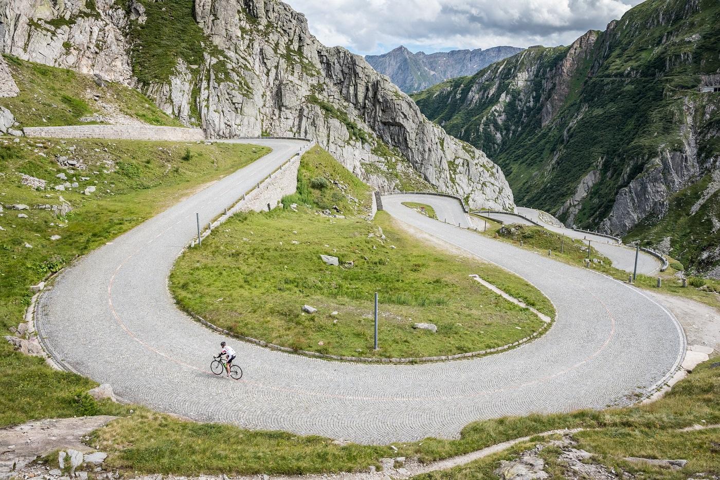 Ruta cicloturista en Suiza