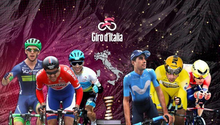Etapas del Giro