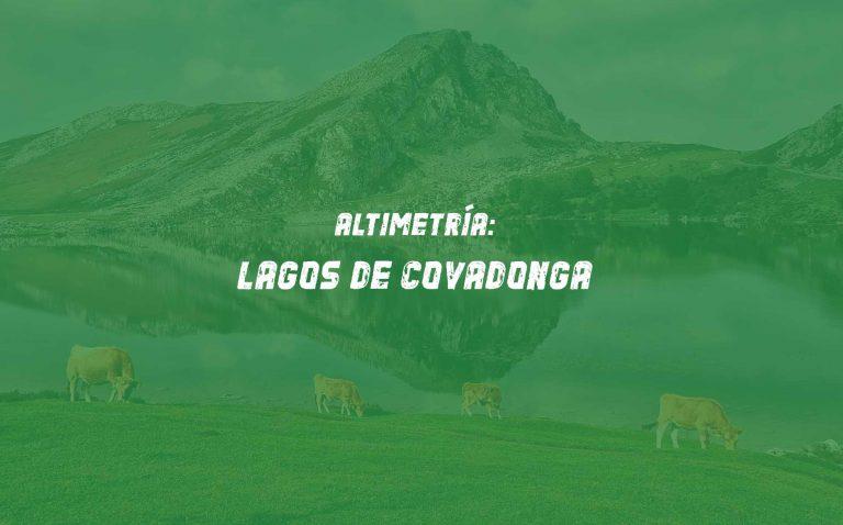 Altimetría Alto Lagos de Covadonga